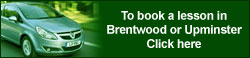 For driving lessons in Brentwood or Upminster click here